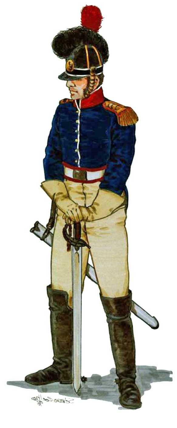 Oficial Reg cavalaria